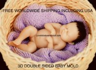 Polymer clay baby sculpt, Fimo baby sculpt, Sculpey baby sculpt , 4 set, Free worldwide shipping (1)
